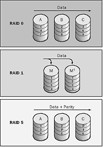RAID file types.